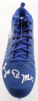 DK Metcalf Signed Under Armour Football Cleat (JSA Hologram) at PristineAuction.com