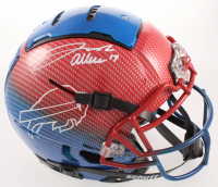 Josh Allen Signed Bills Full-Size Authentic On-Field Hydro Dipped F7 Helmet (JSA COA) at PristineAuction.com