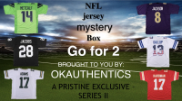 OKAUTHENTICS NFL Go for 2 Mystery Jersey Box Series II (Limited 100) at PristineAuction.com