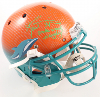 "Ricky Williams Signed Dolphins Full-Size Authentic On-Field Hydro-Dipped Youth Helmet Inscribed ""Smoke Weed Everyday!"" (JSA COA) at PristineAuction.com"