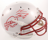"John ""Smokey"" Brown Signed Bills Full-Size Authentic On-Field Hydro-Dipped Helmet (JSA COA) at PristineAuction.com"
