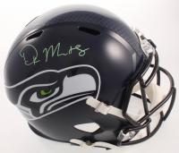 D.K. Metcalf Signed Seahawks Full-Size Speed Helmet (JSA COA) at PristineAuction.com