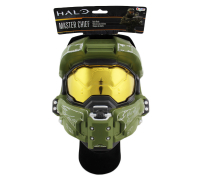 "Steve Downes Signed ""Halo"" Master Chief Adult Mask Inscribed ""MC 117"" & ""I Need A Weapon"" (Radtke COA) at PristineAuction.com"