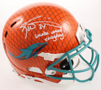 "Ricky Williams Signed Dolphins Full-Size Authentic On-Field Hydro-Dipped Youth Inscribed ""Smoke Weed Everyday!"" (JSA COA) at PristineAuction.com"