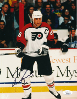 Eric Lindros Signed Flyers 8x10 Photo (JSA COA) at PristineAuction.com