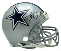Ezekiel Elliott Signed Cowboys Full-Size Helmet (Beckett COA) at PristineAuction.com