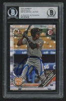 Marco Luciano Signed 2019 Bowman Prospects #BP82 Baseball Card (BGS Encapsulated) at PristineAuction.com