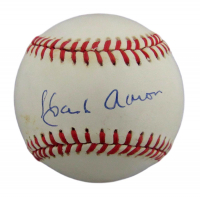 Hank Aaron Signed ONL Baseball (JSA COA) at PristineAuction.com