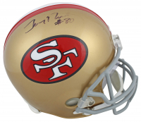 Jerry Rice Signed 49ers Full-Size Helmet (Beckett COA) at PristineAuction.com