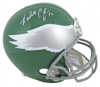 Randall Cunningham Signed Eagles Full-Size Helmet (Beckett COA) at PristineAuction.com