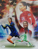 Hope Solo Signed Team USA 11x14 Photo (JSA COA) at PristineAuction.com