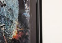 "1977 Original Promotional ""Star Wars: Episode IV -  A New Hope"" 27x36.5 Custom Framed Vintage Record LP Movie Poster Insert at PristineAuction.com"