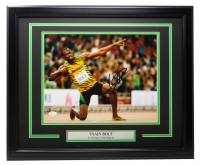 Usain Bolt Signed Team Jamaica 16x20 Custom Framed Photo (JSA COA) at PristineAuction.com