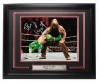 Bray Wyatt Signed WWE 16x20 Custom Framed Photo (SI COA) at PristineAuction.com