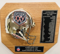 Super Bowl XXV 9.5x10.5 Limited Edition Plaque at PristineAuction.com