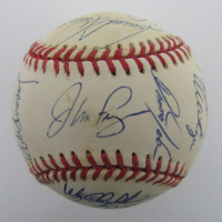 1993 Philadelphia Phillies ONL Baseball Signed by (25) with Jim Fregosi, Mitch Williams, Dave Hollins, Ricky Jordan (Beckett LOA) at PristineAuction.com
