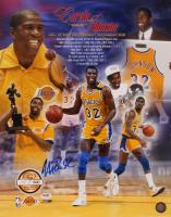 Magic Johnson Signed LE Lakers 16x20 Photo (PSA COA) at PristineAuction.com
