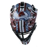 Philipp Grubauer Signed Avalanche Mini Goalie Mask (Fanatics Hologram) at PristineAuction.com
