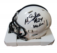 "Miles Sanders Signed Penn State Nittany Lions Speed Mini-Helmet Inscribed ""We Are"" (JSA COA) at PristineAuction.com"