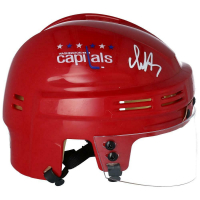 Alexander Ovechkin Signed Capitals Mini Helmet (Fanatics Hologram) at PristineAuction.com