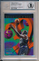 Shaquille O'Neal Signed 1995-96 Hoops Number Crunchers #2 (BGS Encapsulated) at PristineAuction.com