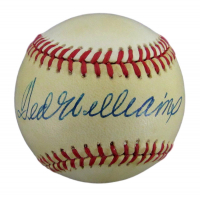 Ted Williams Signed OAL Baseball (JSA COA) at PristineAuction.com