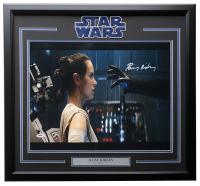 "Daisy Ridley Signed ""Star Wars The Force Awakens"" 22x29 Custom Framed Photo (PSA COA) at PristineAuction.com"