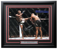 "Jon ""Bones"" Jones Signed UFC 22x27 Custom Framed Photo (PSA COA) at PristineAuction.com"