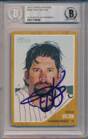 Todd Helton Signed 2011 Topps Heritage #190 (BGS Encapsulated) at PristineAuction.com