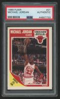 Michael Jordan 1989-90 Fleer #21 (PSA Authentic) at PristineAuction.com