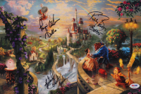 """Paige O'Hara, Richard White & Robby Benson Signed """"Beauty & the Beast"""" 10x15 Photo with Character Inscriptions (PSA LOA) at PristineAuction.com"""