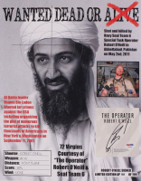 "Robert J. O'Neill Signed LE ""Bin Laden Wanted Dead or Alive"" 13x16 Print (PSA COA) at PristineAuction.com"