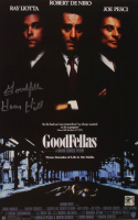 """Henry Hill Signed """"Goodfellas"""" 11x17 Photo Inscribed """"Goodfella"""" (Hill Hologram) at PristineAuction.com"""