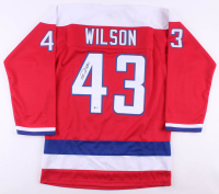 Tom Wilson Signed Jersey (Beckett COA) at PristineAuction.com