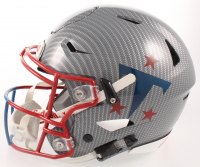 Eddie George Signed Titans Full-Size Authentic On-Field SpeedFlex Helmet (Beckett COA) at PristineAuction.com