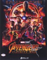 "Tom Holland & Elizabeth Olsen Signed ""Avengers: Infinity War"" 11x14 Photo (PSA COA) at PristineAuction.com"