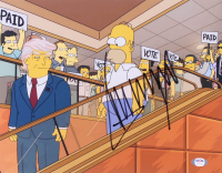 """Donald Trump Signed """"The Simpsons"""" 11x14 Photo (PSA Hologram) at PristineAuction.com"""