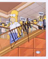"Donald Trump Signed ""The Simpsons"" 11x14 Photo (PSA Hologram) at PristineAuction.com"