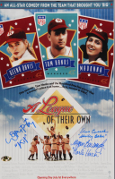 """Lori Petty, Ann Cusack & Megan Cavanagh Signed """"A League of Their Own"""" 11x17 Photo Inscribed """"Kit"""", """"Shirley Baker"""" & """"Marla Hooch"""" (MAB Hologram) at PristineAuction.com"""