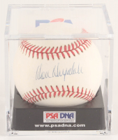 Don Drysdale Signed ONL Baseball with Display Case (PSA COA) at PristineAuction.com