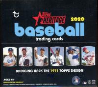 2020 Topps Heritage Baseball Hobby Box 24 Packs at PristineAuction.com