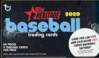 2020 Topps Heritage Baseball Retail Box 24 Packs at PristineAuction.com