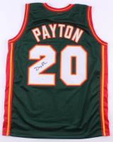Gary Peyton Signed Jersey (JSA COA) at PristineAuction.com