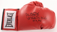 "James ""Buster"" Douglas Signed Everlast Boxing Glove Inscribed ""I Shocked the World 2/11/90"" (Schwartz Sports COA) at PristineAuction.com"