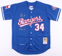 "Nolan Ryan Signed Rangers Jersey Inscribed ""The Ryan Express"" (PSA COA) at PristineAuction.com"