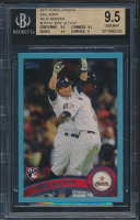 Jose Altuve 2011 Topps Update Wal-Mart Blue Border #US132 RC (BGS 9.5) at PristineAuction.com
