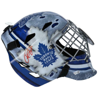 Frederik Andersen Signed Maple Leafs Full-Size Goalie Mask (Fanatics Hologram) at PristineAuction.com