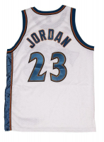 Michael Jordan Signed Wizards Authentic Nike Jersey (UDA COA) at PristineAuction.com