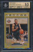 Russell Westbrook 2008-09 Topps Gold Border RC (BGS 9.5) at PristineAuction.com