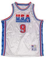 Michael Jordan Signed 1992 USA Olympic Jersey (UDA COA) at PristineAuction.com